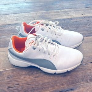 Kids Puma Golf Shoes